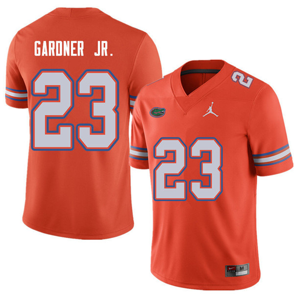 Jordan Brand Men #23 Chauncey Gardner Jr. Florida Gators College Football Jerseys Sale-Orange