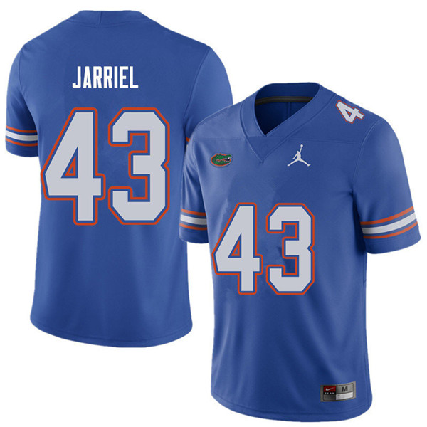 Jordan Brand Men #43 Glenn Jarriel Florida Gators College Football Jerseys Sale-Royal
