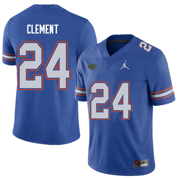 Jordan Brand Men #24 Iverson Clement Florida Gators College Football Jerseys Sale-Royal