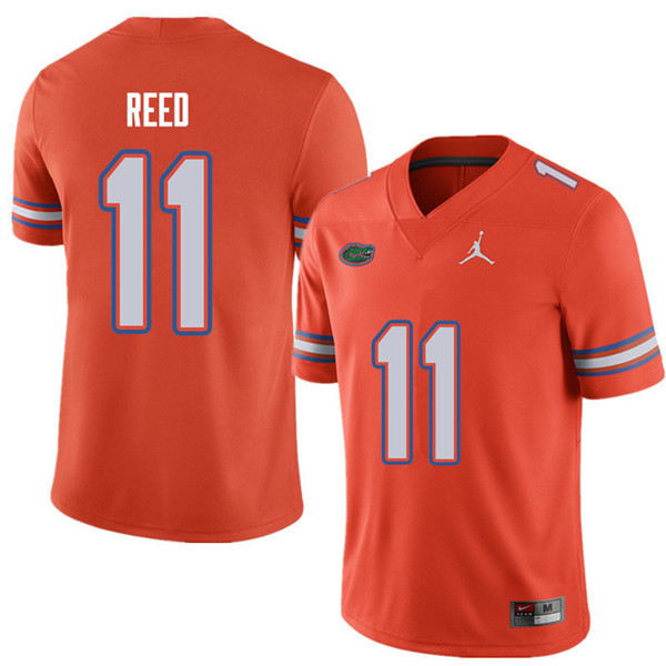Jordan Brand Men #11 Jordan Reed Florida Gators College Football Jerseys Sale-Orange