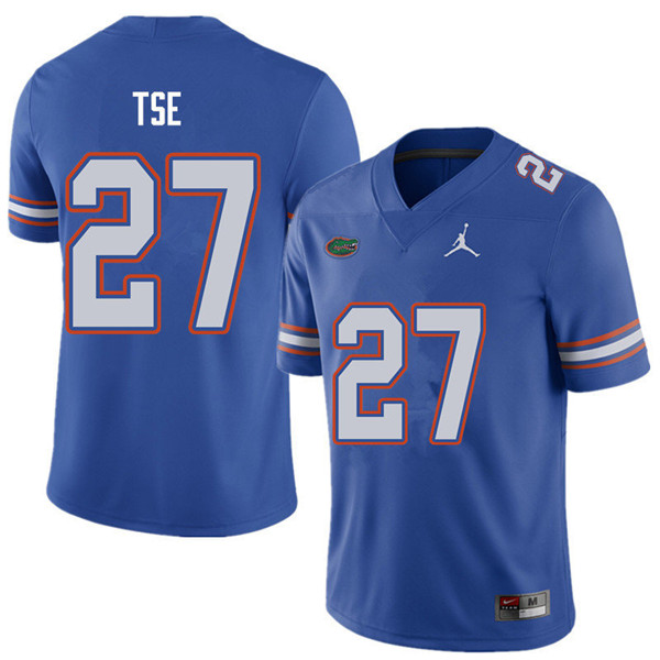 Jordan Brand Men #27 Joshua Tse Florida Gators College Football Jerseys Sale-Royal