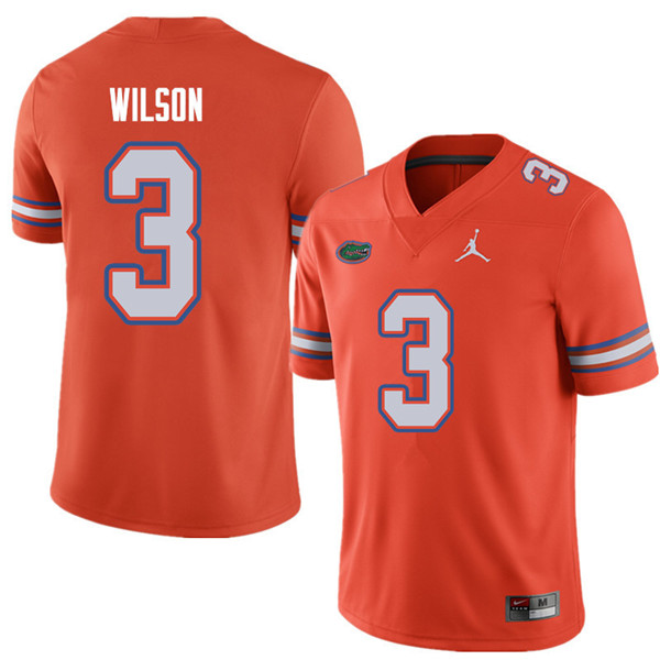 Jordan Brand Men #3 Marco Wilson Florida Gators College Football Jerseys Sale-Orange