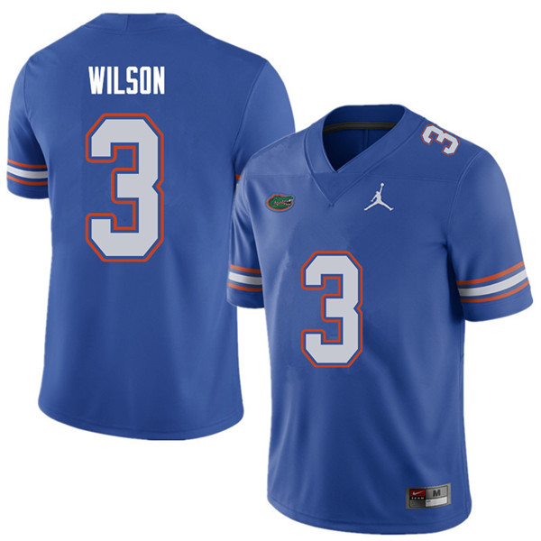 Jordan Brand Men #3 Marco Wilson Florida Gators College Football Jerseys Sale-Royal