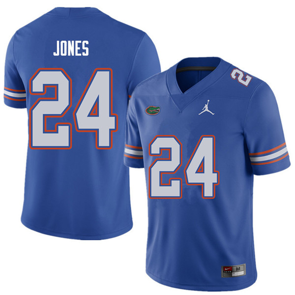 Jordan Brand Men #24 Matt Jones Florida Gators College Football Jerseys Sale-Royal