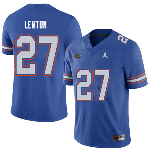 Jordan Brand Men #27 Quincy Lenton Florida Gators College Football Jerseys Sale-Royal
