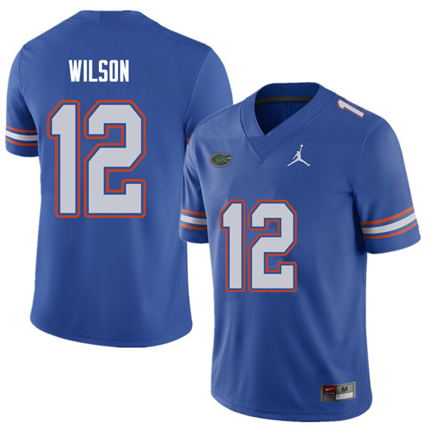 Jordan Brand Men #12 Quincy Wilson Florida Gators College Football Jerseys Sale-Royal