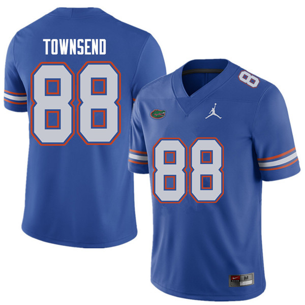 Jordan Brand Men #88 Tommy Townsend Florida Gators College Football Jerseys Sale-Royal