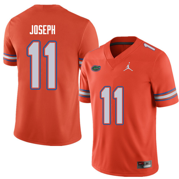 Jordan Brand Men #11 Vosean Joseph Florida Gators College Football Jerseys Sale-Orange