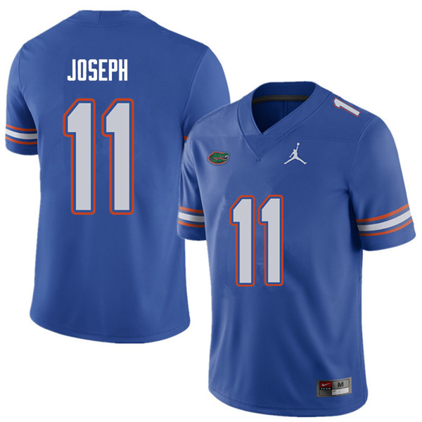 Jordan Brand Men #11 Vosean Joseph Florida Gators College Football Jerseys Sale-Royal