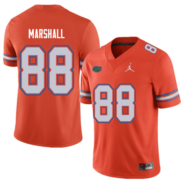 Jordan Brand Men #88 Wilber Marshall Florida Gators College Football Jerseys Sale-Orange
