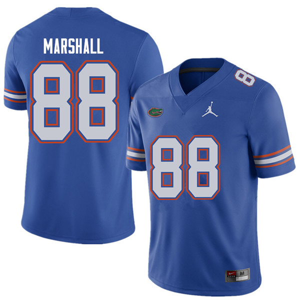 Jordan Brand Men #88 Wilber Marshall Florida Gators College Football Jerseys Sale-Royal