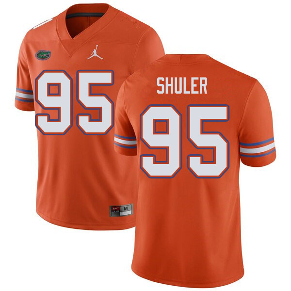 Jordan Brand Men #95 Adam Shuler Florida Gators College Football Jerseys Sale-Orange