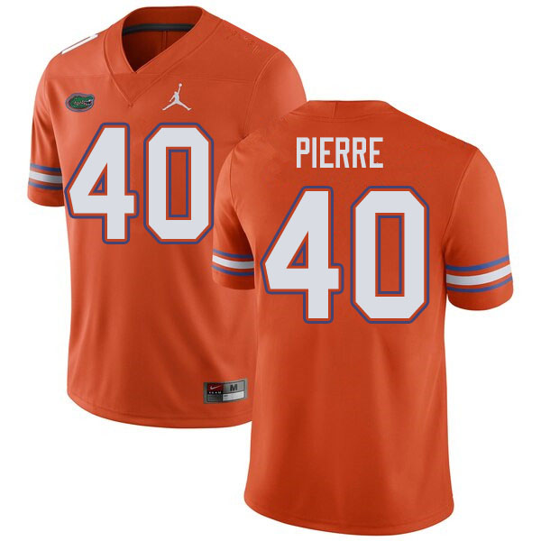 Jordan Brand Men #40 Jesiah Pierre Florida Gators College Football Jerseys Sale-Orange