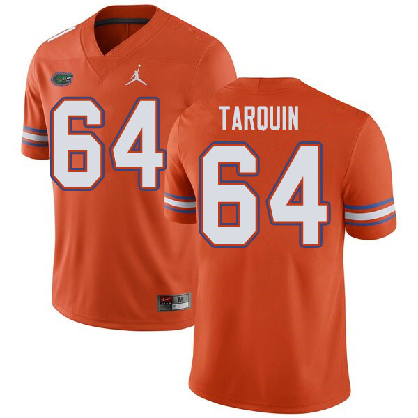 Jordan Brand Men #64 Michael Tarquin Florida Gators College Football Jerseys Sale-Orange