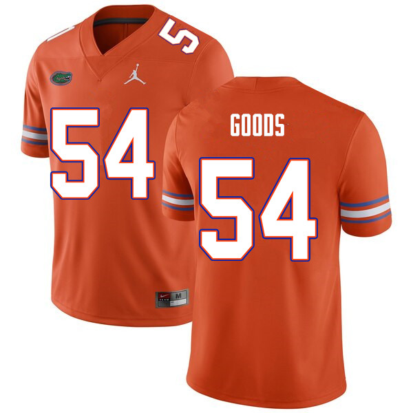 Men #54 Lamar Goods Florida Gators College Football Jerseys Sale-Orange