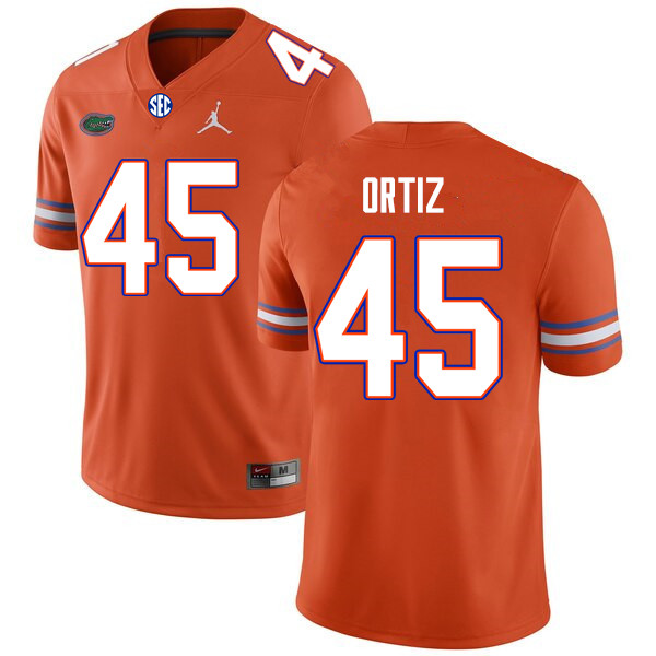 Men #45 Marco Ortiz Florida Gators College Football Jerseys Sale-Orange