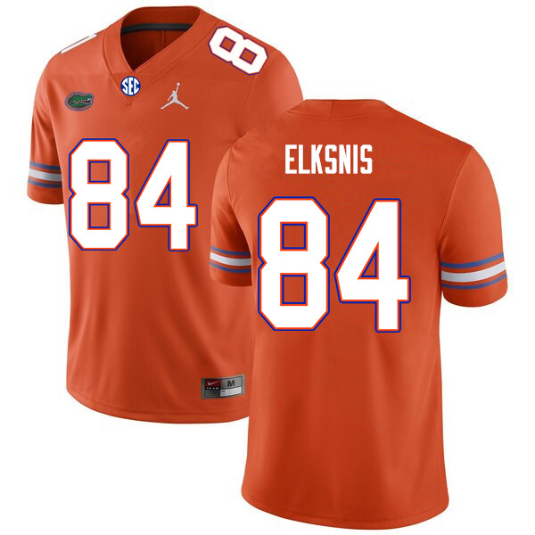 Men #84 Nick Elksnis Florida Gators College Football Jerseys Sale-Orange