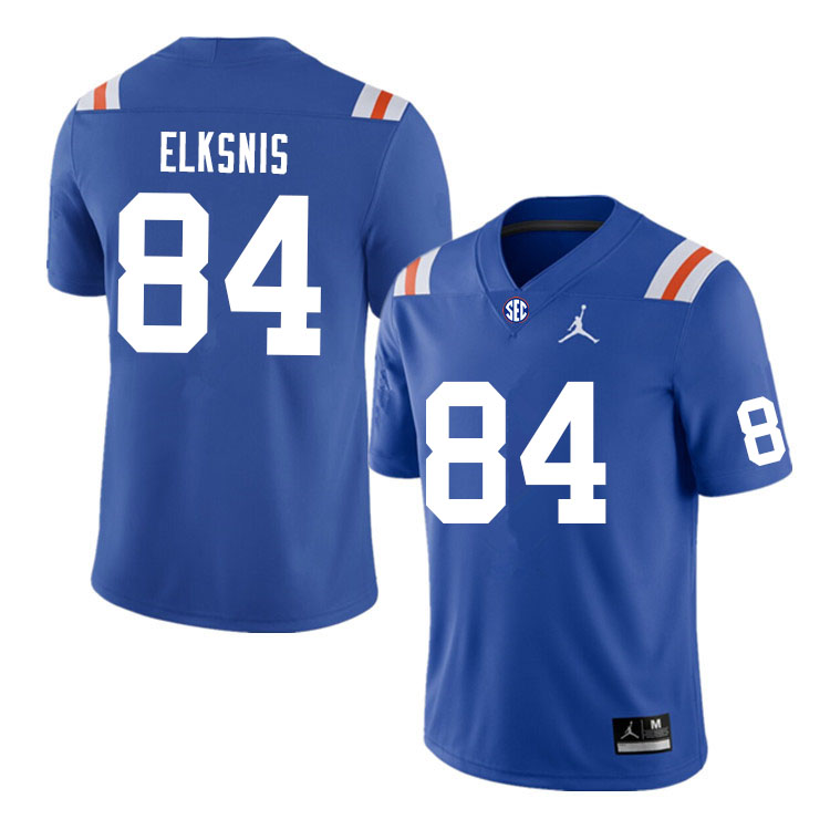 Men #84 Nick Elksnis Florida Gators College Football Jerseys Sale-Throwback