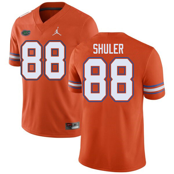 Jordan Brand Men #88 Adam Shuler Florida Gators College Football Jerseys Sale-Orange