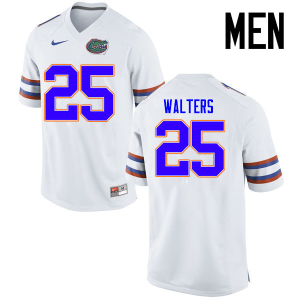 Men Florida Gators #25 Brady Walters College Football Jerseys Sale-White