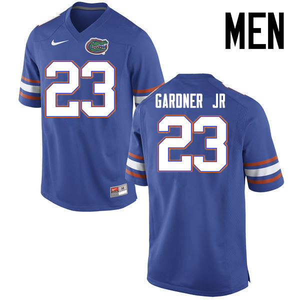 Men Florida Gators #23 Chauncey Gardner Jr. College Football Jerseys Sale-Blue