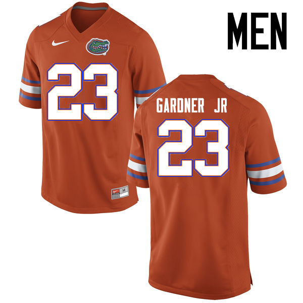 Men Florida Gators #23 Chauncey Gardner Jr. College Football Jerseys Sale-Orange