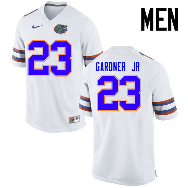 Men Florida Gators #23 Chauncey Gardner Jr. College Football Jerseys Sale-White