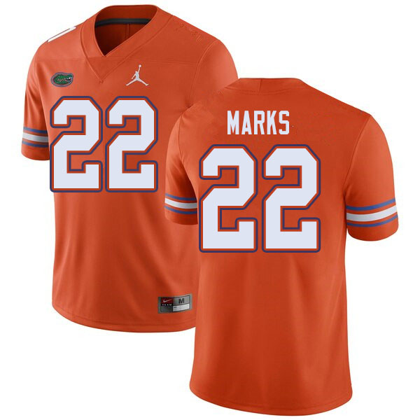 Jordan Brand Men #22 Dionte Marks Florida Gators College Football Jerseys Sale-Orange