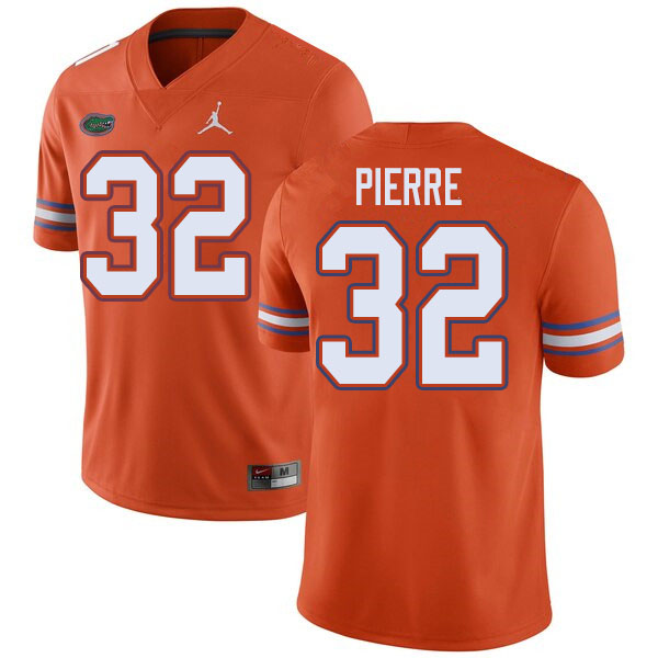 Jordan Brand Men #32 Jesiah Pierre Florida Gators College Football Jerseys Sale-Orange