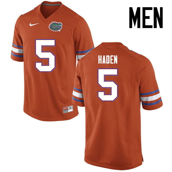 Men Florida Gators #5 Joe Haden College Football Jerseys Sale-Orange