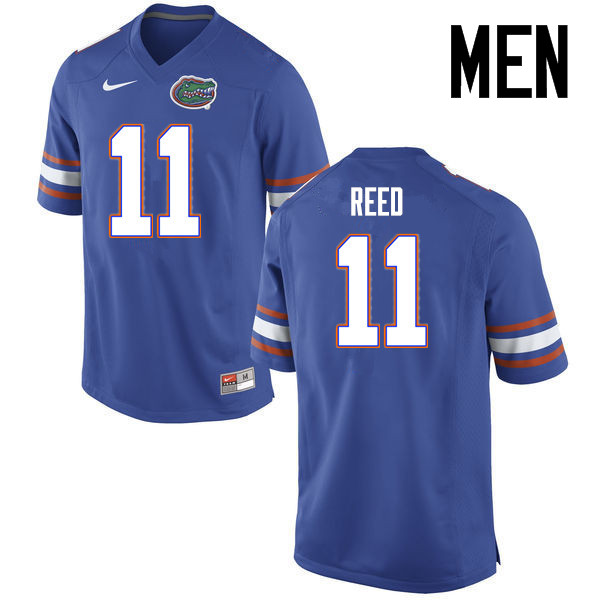 Men Florida Gators #11 Jordan Reed College Football Jerseys Sale-Blue