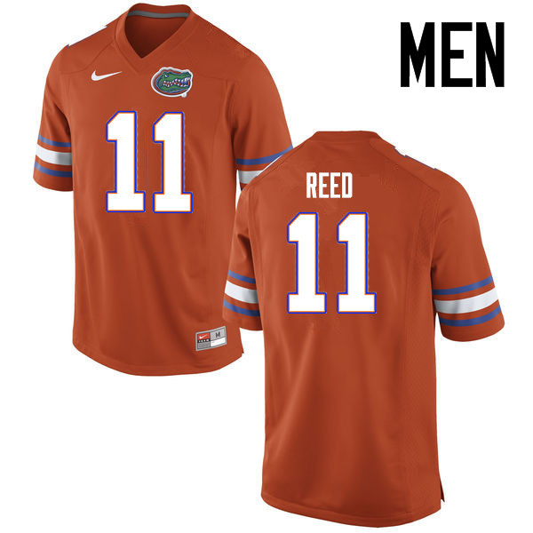 Men Florida Gators #11 Jordan Reed College Football Jerseys Sale-Orange