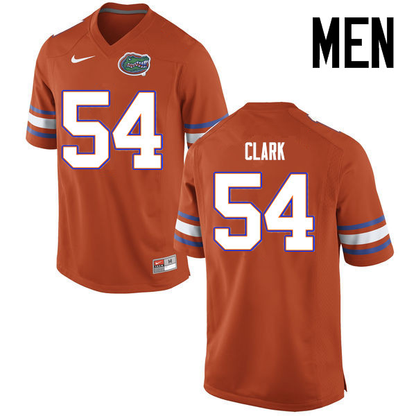 Men Florida Gators #54 Khairi Clark College Football Jerseys Sale-Orange