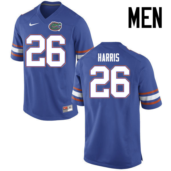 Men Florida Gators #26 Marcell Harris College Football Jerseys Sale-Blue