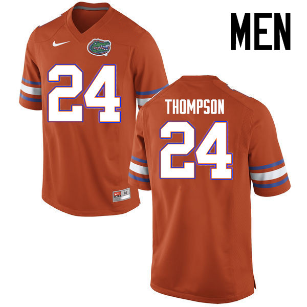 Men Florida Gators #24 Mark Thompson College Football Jerseys Sale-Orange