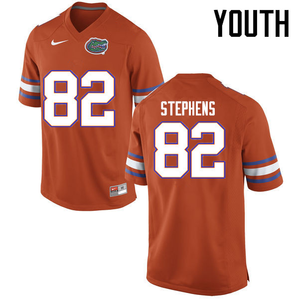Youth Florida Gators #82 Moral Stephens College Football Jerseys Sale-Orange