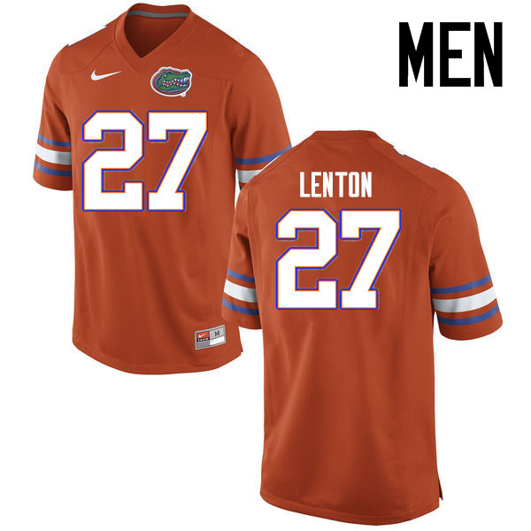 Men Florida Gators #27 Quincy Lenton College Football Jerseys Sale-Orange