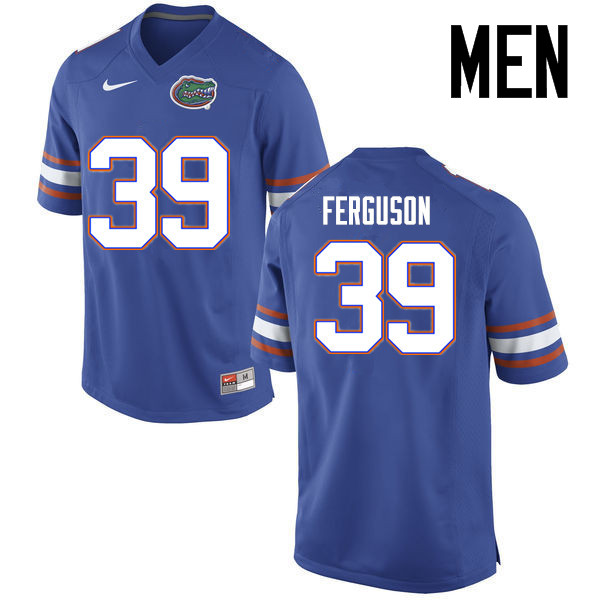 Men Florida Gators #39 Ryan Ferguson College Football Jerseys Sale-Blue