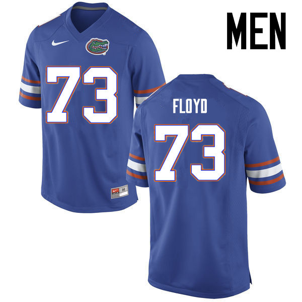 Men Florida Gators #73 Sharrif Floyd College Football Jerseys Sale-Blue