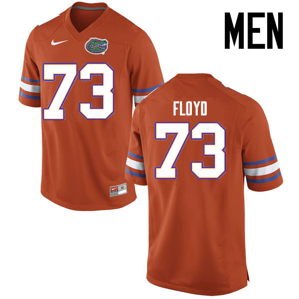 Men Florida Gators #73 Sharrif Floyd College Football Jerseys Sale-Orange