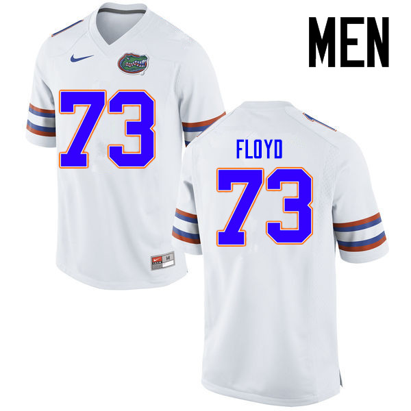 Men Florida Gators #73 Sharrif Floyd College Football Jerseys Sale-White
