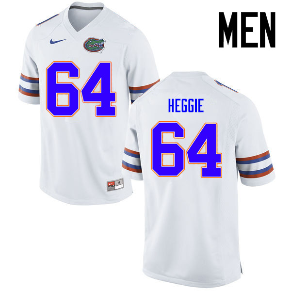 Men Florida Gators #64 Tyler Jordan College Football Jerseys Sale-White