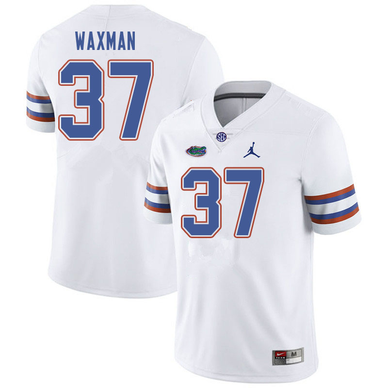 Jordan Brand Men #37 Tyler Waxman Florida Gators College Football Jerseys Sale-White