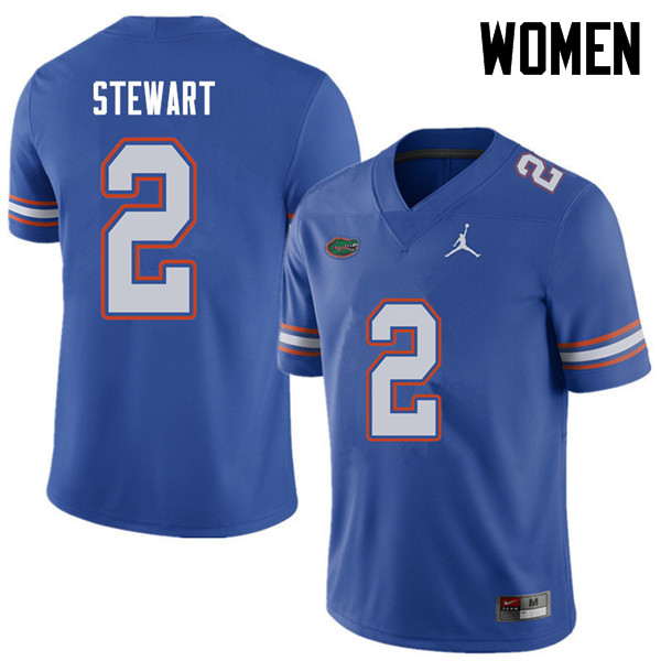 Jordan Brand Women #2 Brad Stewart Florida Gators College Football Jerseys Sale-Royal