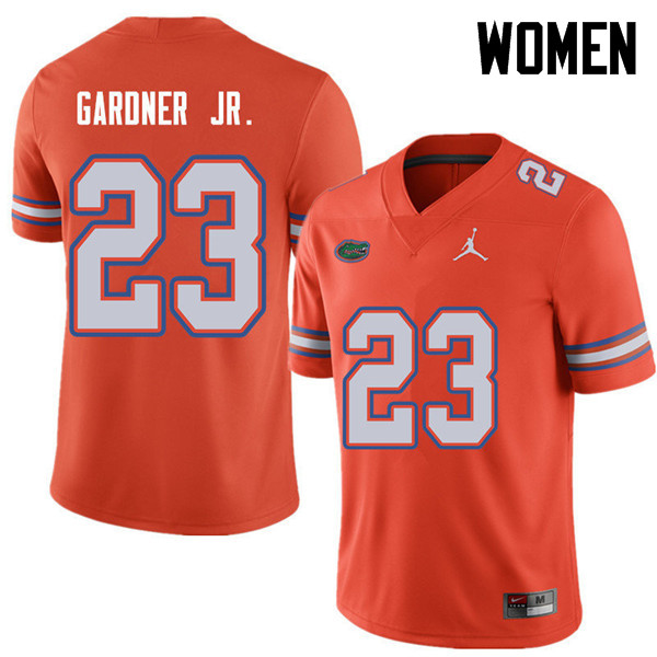 Jordan Brand Women #23 Chauncey Gardner Jr. Florida Gators College Football Jerseys Sale-Orange