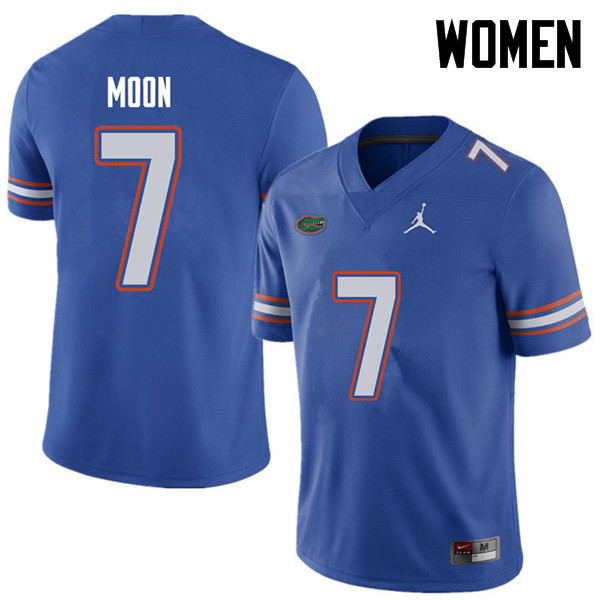 Jordan Brand Women #7 Jeremiah Moon Florida Gators College Football Jerseys Sale-Royal