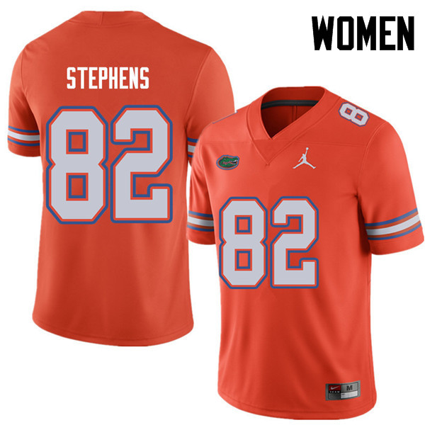 Jordan Brand Women #82 Moral Stephens Florida Gators College Football Jerseys Sale-Orange
