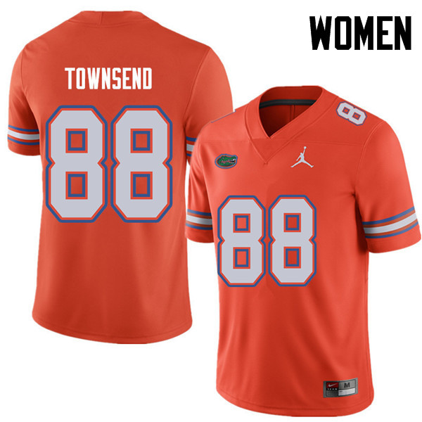 Jordan Brand Women #88 Tommy Townsend Florida Gators College Football Jerseys Sale-Orange