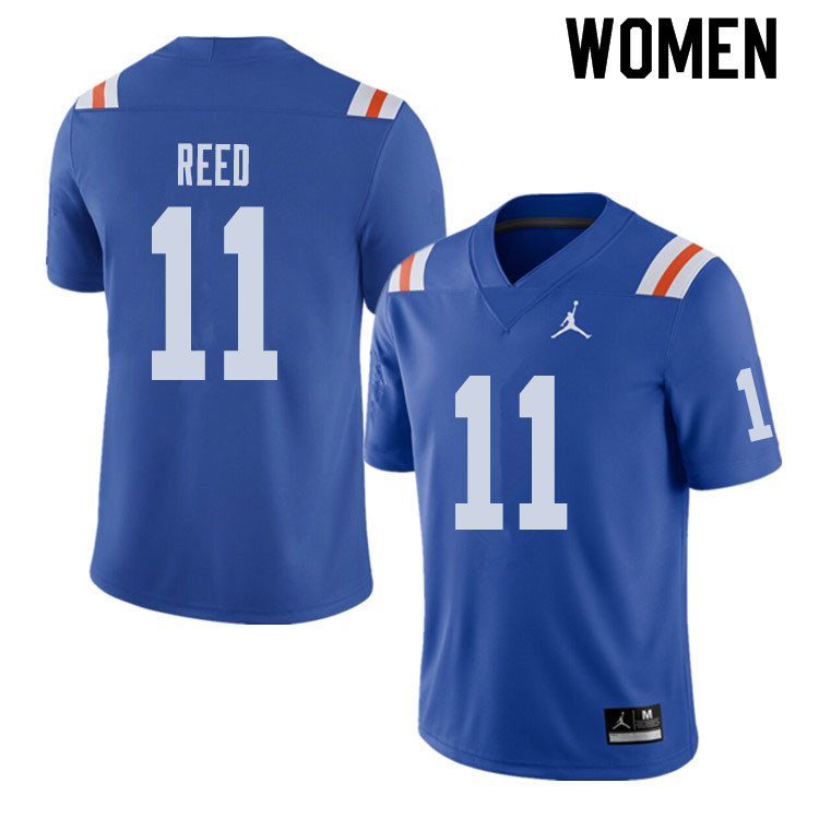 Jordan Brand Women #11 Jordan Reed Florida Gators Throwback Alternate College Football Jerseys Sale-