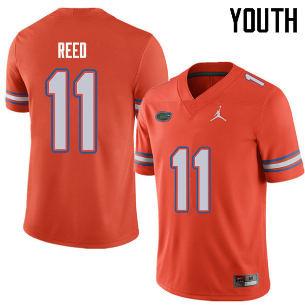 Jordan Brand Youth #11 Jordan Reed Florida Gators College Football Jerseys Sale-Orange